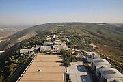 Israel, Haifa, Elevated view of Mount Carmel from the Eshkol building at the Haifa University