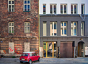 Odrestaurowane kamieniczki na ulicy Kupa na krakowskim Kazimierzu.<br /> Restored tenement houses on Kupa street in Krakow's Kazimierz district.