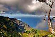 Landscape,photo,Hawaii,mountains,ocean,