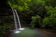waterfall, water fall, water, green, Arkansas, Buffalo River, Ozarks