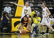NCAA Women's Basketball - Minnesota at Iowa - February 18, 2010