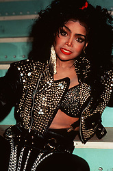 PA NEWS PHOTO/DEBELLIS : UK USE ONLY: American singer and the younger sister of Michael Jackson, Latoya Jackson.