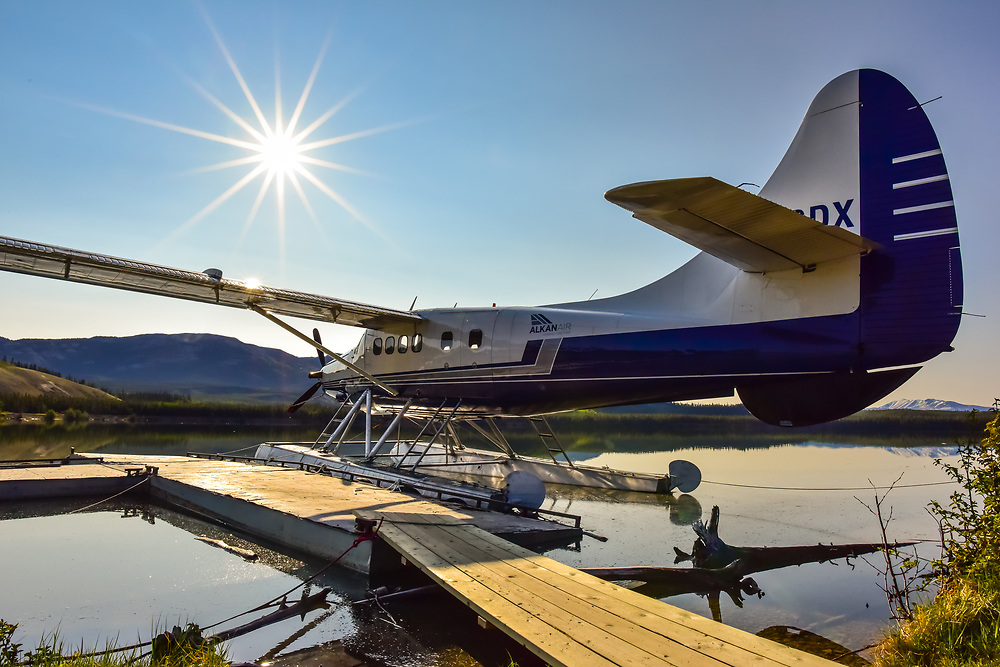 This Alkan Air DHC-3 Turbo Otter just makes me want to go flying.