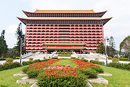 The Grand Hotel is a famous landmark in Taipei, Taiwan.
