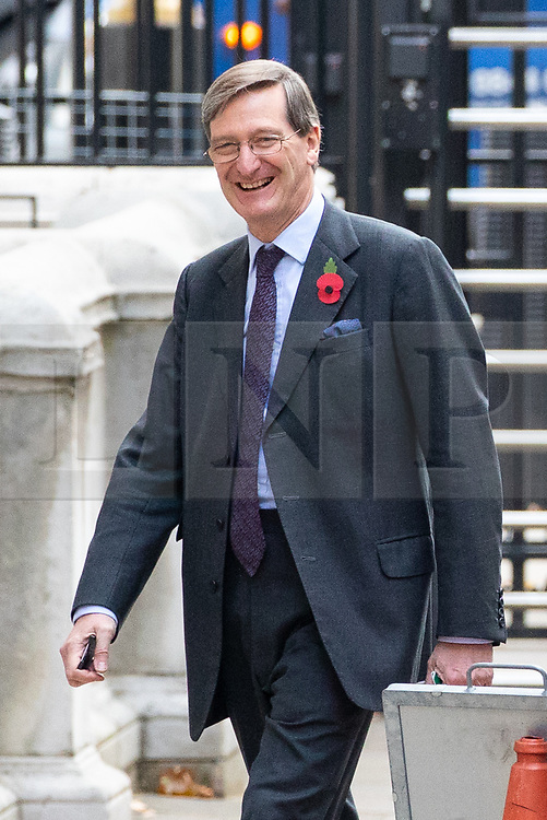 © Licensed to London News Pictures. 06/11/2018. London, UK. leaving 10 Downing Street after attending a Cabinet meeting this morning. Photo credit : Tom Nicholson/LNP