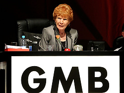 File photo dated 12/06/14 of Mary Turner, as a book of condolences is being launched for people to pay their respects to Turner, long-standing president of the GMB union and member of the Labour Party's Executive, who has died after a short illness.