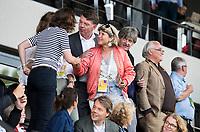 AMSTELVEEN - Madeleine Bakker (KNHB)   tijdens  de opening van het Stadion voor de Nederland - Spanje (dames) bij de Rabo EuroHockey Championships 2017.  COPYRIGHT KOEN SUYK