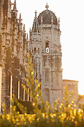 Jeronimos Monastery is a UNESCO World Heritage Site in Lisbon, Portugal