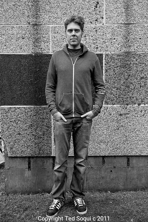 Portraits of people at Occupy LA in downtown Los Angeles..Roadblock, activist, from Los Angeles.