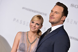 Anna Faris and Chris Pratt attend the World Premiere of Columbia Pictures' 'Passengers' at Regency Village Theatre on December 14, 2016 in Los Angeles, CA, USA. Photo by Lionel Hahn/ABACAPRESS.COM