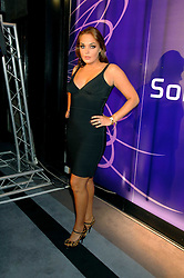 TAMARA ECCLESTONE at a party to celebrate the launch of the new purple Sony Ericsson K770i phone held at the Bloomsbury Ballroom, Bloomsbury Square, London on 24th October 2007.<br />