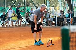 Zlatko Galjasevic during Tennis tournament of Slovenian Recreational players, on August 16, 2020 in SC Marina, Portoroz / Portorose, Slovenia. Photo by Vid Ponikvar / Sportida