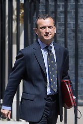 Downing Street,  London, June 27th 2015. Welsh Secretary Alun Cairns leaves the first post-Brexit cabinet meeting at 10 Downing Street.