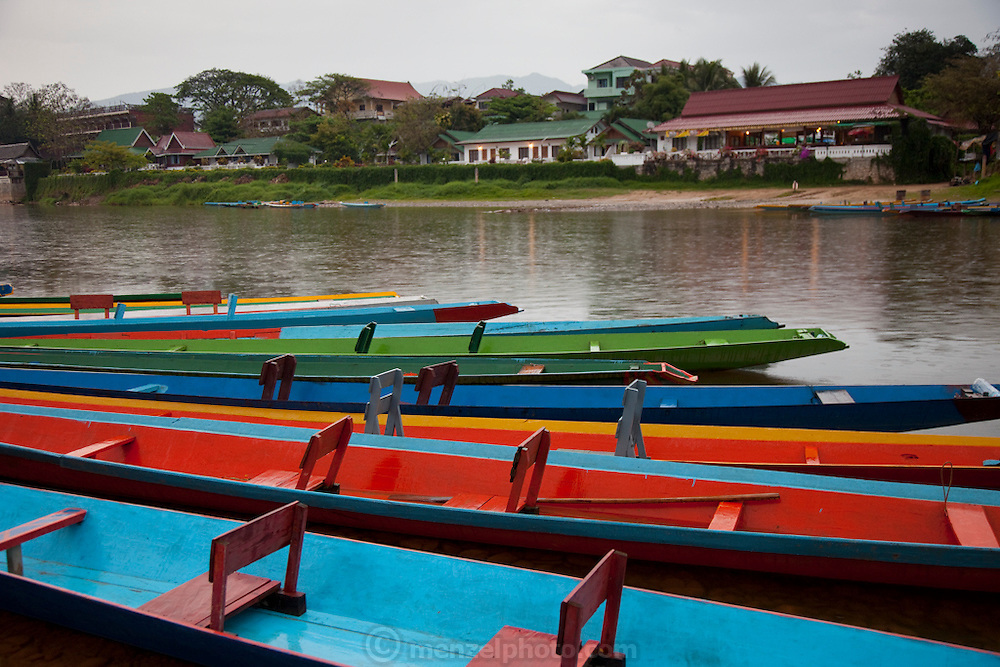 Vang Vieng, Laos. Nam Song River