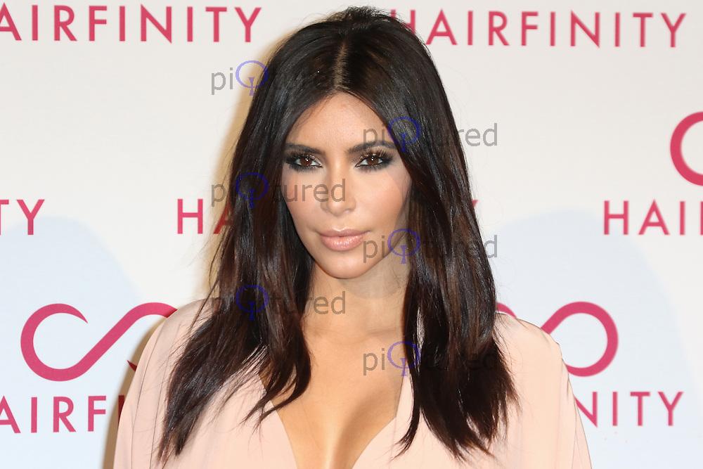 Kim Kardashian West, Hairfinity - launch party, Il Bottaccio, London UK, 08 November 2014, Photo by Richard Goldschmidt