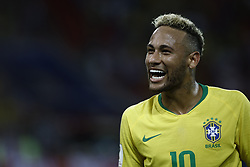 June 27, 2018 - Moscow, Russia - Neymar during the 2018 FIFA World Cup Russia group E match between Serbia and Brazil at Spartak Stadium on June 27, 2018 in Moscow, Russia. (Credit Image: © Mehdi Taamallah/NurPhoto via ZUMA Press)