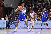 DESCRIZIONE : Beko Legabasket Serie A 2015- 2016 Dinamo Banco di Sardegna Sassari - Enel Brindisi<br /> GIOCATORE : Kenneth Kadji<br /> CATEGORIA : Palleggio Controcampo<br /> SQUADRA : Enel Brindisi<br /> EVENTO : Beko Legabasket Serie A 2015-2016<br /> GARA : Dinamo Banco di Sardegna Sassari - Enel Brindisi<br /> DATA : 18/10/2015<br /> SPORT : Pallacanestro <br /> AUTORE : Agenzia Ciamillo-Castoria/C.Atzori