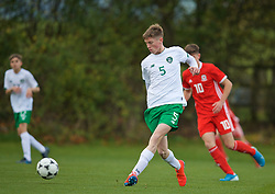 WREXHAM, WALES - Wednesday, October 30, 2019: Republic of Ireland's Aaron O'Reilly during the 2019 Victory Shield match between Wales and Republic of Ireland at Colliers Park. (Pic by David Rawcliffe/Propaganda)