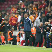 Fenerbahce's coach Ismail Kartal during their Turkish superleague soccer derby match Galatasaray between Fenerbahce at the AliSamiYen spor kompleksi TT Arena in Istanbul Turkey on Saturday, 18 october 2014. Photo by Aykut AKICI/TURKPIX