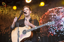 Stevie McCrorie on the main stage. Saturday at Party at the Palace 2017, Linlithgow.