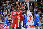 DESCRIZIONE : Campionato 2014/15 Dinamo Banco di Sardegna Sassari - Olimpia EA7 Emporio Armani Milano Playoff Semifinale Gara3<br /> GIOCATORE : Samardo Samuels<br /> CATEGORIA : Tiro Controcampo<br /> SQUADRA : Olimpia EA7 Emporio Armani Milano<br /> EVENTO : LegaBasket Serie A Beko 2014/2015 Playoff Semifinale Gara3<br /> GARA : Dinamo Banco di Sardegna Sassari - Olimpia EA7 Emporio Armani Milano Gara4<br /> DATA : 02/06/2015<br /> SPORT : Pallacanestro <br /> AUTORE : Agenzia Ciamillo-Castoria/L.Canu