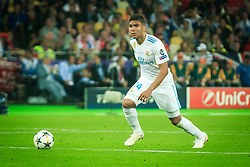 Casemiro of Real Madrid during the UEFA Champions League final football match between Liverpool and Real Madrid at the Olympic Stadium in Kiev, Ukraine on May 26, 2018.Photo by Sandi Fiser / Sportida
