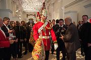 Cartier Tank Anglaise launch. Kensington Palace Orangery, London.  19 April 2012.