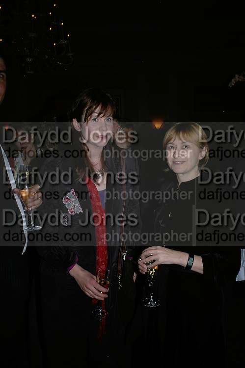 Emily Watson, Emilie Dequenne, Opening Gala of Rendez-Vous with French Cinema. Screening of La Vie En Rose and party afterwards at Claridges. 29 March 2007. -DO NOT ARCHIVE-© Copyright Photograph by Dafydd Jones. 248 Clapham Rd. London SW9 0PZ. Tel 0207 820 0771. www.dafjones.com.