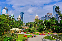 Chine, Hong Kong, Hong Kong Island, jardins zoologique et botanique // China, Hong-Kong, Hong Kong Island, Zoological and Botanical gradens