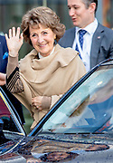 Prinses Margriet is aanwezig bij de bijeenkomst van Grenzeloos actief en de finales van de wereldkampioenschappen para-cycling 2019 in Omnisport te Apeldoorn<br /> <br /> Princess Margriet is present at the meeting of Grenzeloos active and the finals of the 2019 para-cycling world championships in Omnisport in Apeldoorn