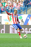 Atletico de Madrid´s Antoine Griezmann during 2014-15 La Liga match between Atletico de Madrid and Athletic Club at Vicente Calderon stadium in Madrid, Spain. May 02, 2015. (ALTERPHOTOS/Luis Fernandez)