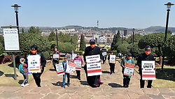 South Africa - Pretoria - 15 September 2020. Religious leaders gathered at the Union Buildings for a silent prayer against recent Covid-19 corruption.<br /> Picture: Oupa Mokoena/African News Agency (ANA)