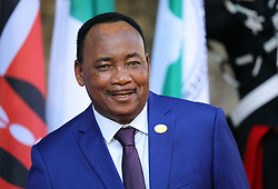 27.05.2017, Taormina, ITA, 43. G7 Gipfel in Taormina, im Bild Uhuru Kenyatta, Präsident der Republik Kenia // Uhuru Kenyatta, President of the Republic of Kenya during the 43rd G7 summit in Taormina, Italy on 2017/05/27. EXPA Pictures © 2017, PhotoCredit: EXPA/ SM<br /> <br /> *****ATTENTION - OUT of GER*****
