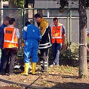 Gas lekkage bij BNI Huizen, overleg