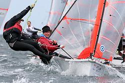 , Kiel - Young Europeans Sailing 14.05. - 17.05.2016, 29er - DEN 2312 - Johanne SCHMIDT - Andrea SCHMIDT - Kaløvig