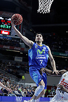 Movistar Estudiantes' Jaime Fernandez during Liga Endesa ACB match.March 29,2015. (ALTERPHOTOS/Acero)