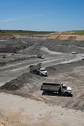 Mina da Copelmi em Minas do Leao Rio Grande do Sul, Brasil / Coal mine at Minas do Leao, Brazil
