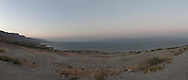 Panoramic of The Dead Sea. Panoramica del mar Morto.