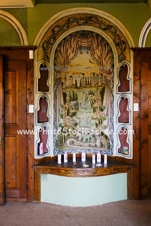 Interior of the Renovated Nedkovich house, Plovdiv, Bulgaria