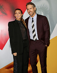September 11, 2018 - New York City, New York, USA - 9/10/18.Blake Lively and Ryan Reynolds at the world premiere of ''A Simple Favor'' held at The Museum of Modern Art in New York City..(NYC) (Credit Image: © Starmax/Newscom via ZUMA Press)