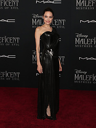 Maleficent: Mistress of Evil Premiere. 30 Sep 2019 Pictured: Angelina Jolie. Photo credit: Jen Lowery / MEGA TheMegaAgency.com +1 888 505 6342