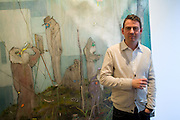 NIGEL COOKE, Nigel Cook: New Accursed Art Club. Stuart Shave/Modern art. New Gallery at Eastcastle St. Oxford Circus. London. 24 April 2008.  *** Local Caption *** -DO NOT ARCHIVE-© Copyright Photograph by Dafydd Jones. 248 Clapham Rd. London SW9 0PZ. Tel 0207 820 0771. www.dafjones.com.