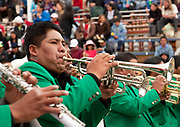 the annual Oruro Carnival in Bolivia is a UNESCO World heritage event and happens at the same time as Carnival all over Latin America, it attracts upto four hundred thousand people to the city of Oruro in the Altiplano and lasts for severeal days with processions, elabroate costumes such as Devils, doctors and negritos, there is also brass bands and a huge water fight