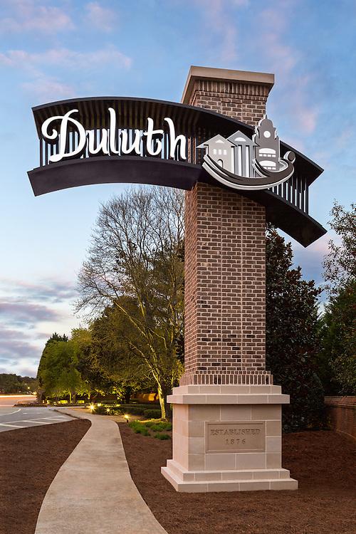 Duluth Sign - Duluth, GA