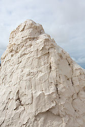 Detail of a sand dune in White Sands, New Mexico
