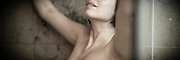 Panorama detail of womans face Fine Art Photography, Paul Foley, Collectible Photography