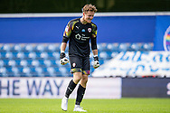Barnsley goalkeeper Jack Walton (13) smiles after the final whistle during the EFL Sky Bet Championship match between Queens Park Rangers and Barnsley at the Kiyan Prince Foundation Stadium, London, England on 20 June 2020.