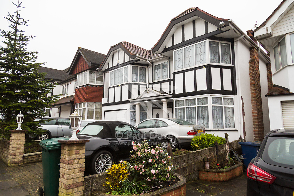 The family home of Christy Chelvendra, a retired accountant who together with his daughters own several properties in north London including the one at 55 Bacon Lane where two people died and five others were hospitalised following suspected carbon monoxide poisoning. London, April 09 2018.