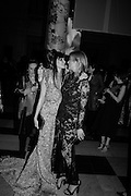 Annabelle Neilson and Kate Moss, Alexander McQueen: Savage Beauty Gala, Victoria and Albert Museum, and A. 12th March 2015