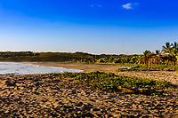 Nahualapa beach Aposentillo Chinandega in Nicaragua